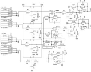 Усилитель биопотенциалов USB кардиографа