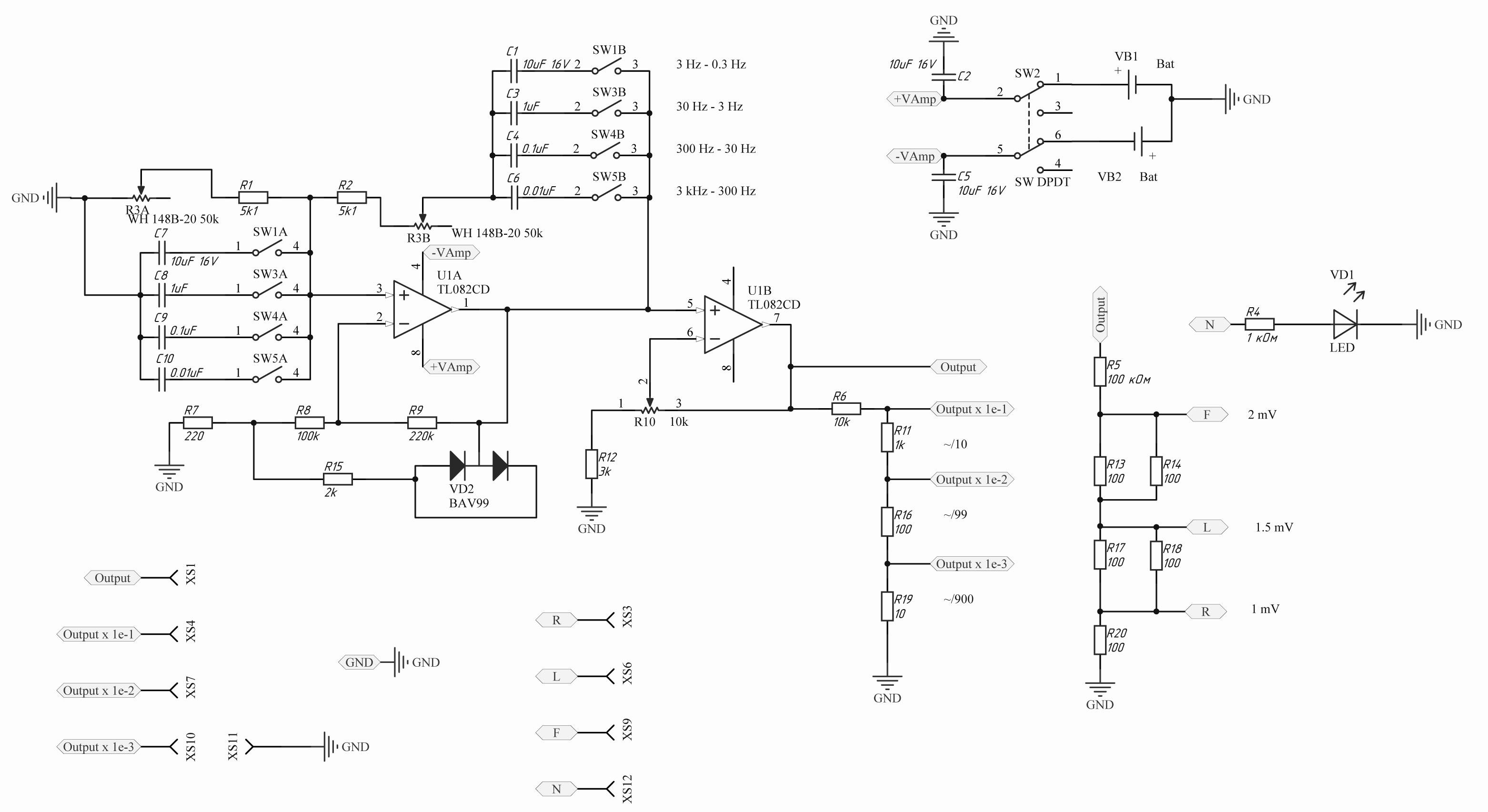 Звуковой генератор своими руками схема фото 662